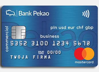Karta debetowa Banku Pekao - Mastercard